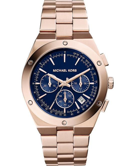 Michael Kors Reagan Rose Gold Men's Watch 42mm