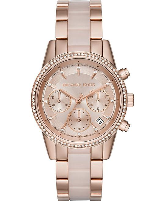 MICHAEL KORS Ritz Quartz Chronograph Watch 37mm