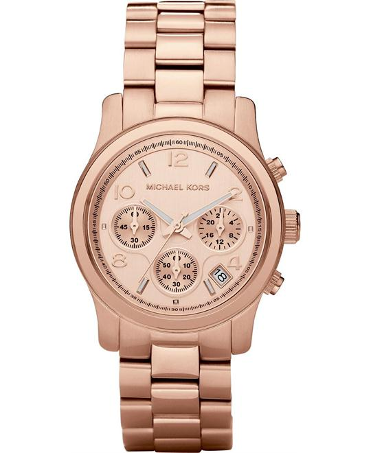 Michael Kors Runway Rose Gold Unisex Watch  38mm