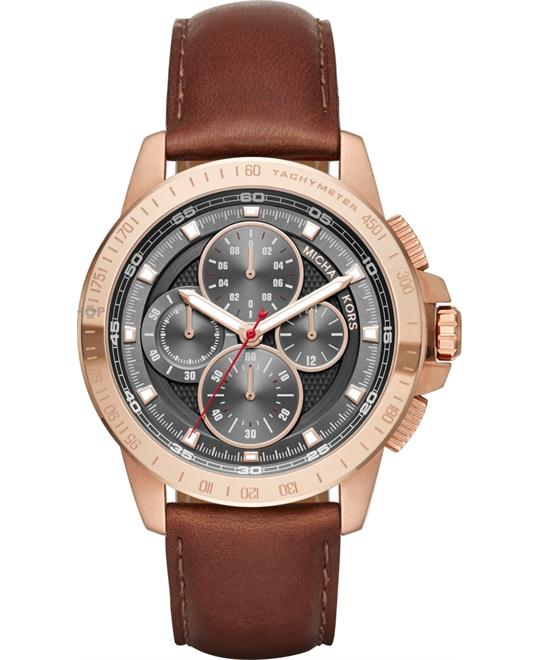 MICHAEL KORS Ryker Rose Gold Watch 43mm