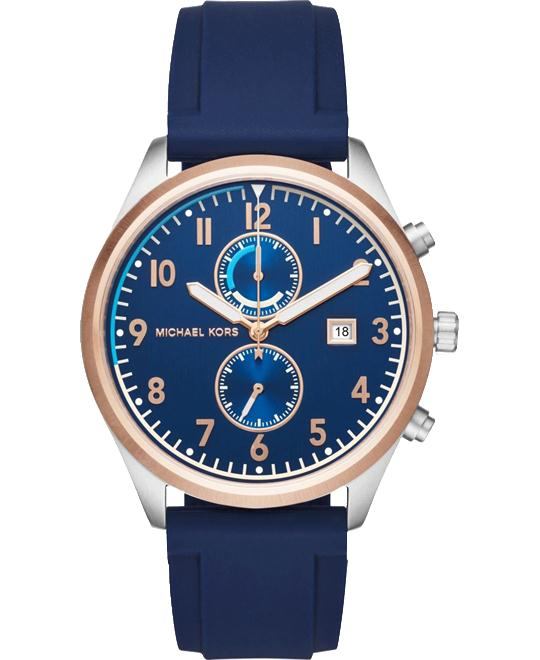 MICHAEL KORS Saunder Blue Dial Men's Watch 43mm