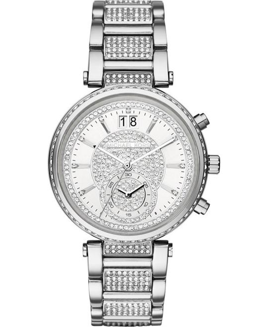MICHAEL KORS Sawyer Pave Ladies Watch 39mm