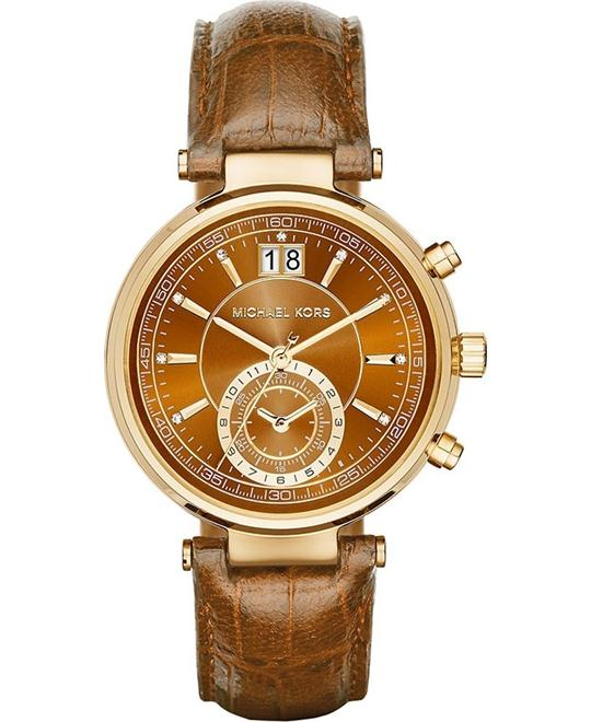 Michael Kors Sawyer Women's Brown Watch 38mm