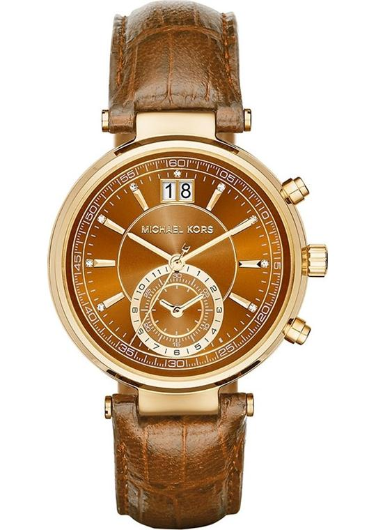 Michael Kors Sawyer Women's Brown Watch 39mm