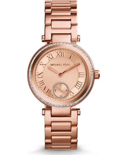 Michael Kors Skylar Rose Roman Unisex Watch 33mm