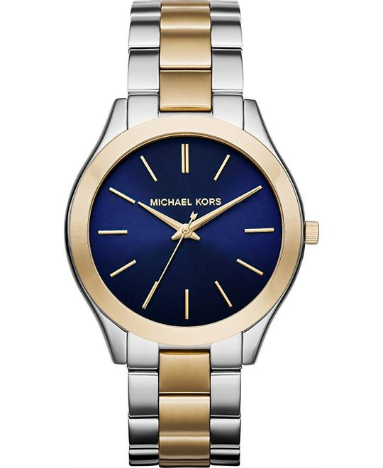 MICHAEL KORS Slim Runway Blue Ladies Watch 42mm