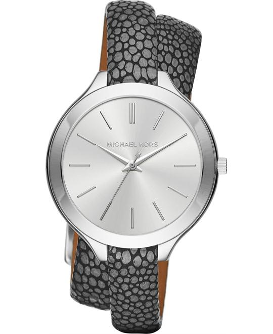 MICHAEL KORS Slim Runway Double Warp Watch 42mm
