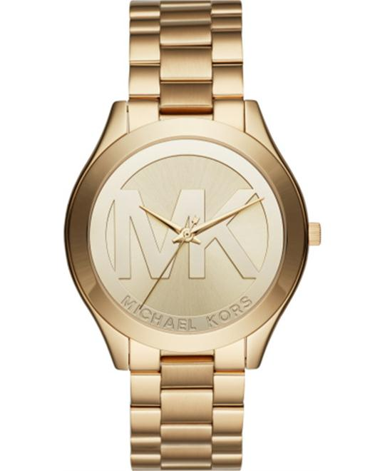 Michael Kors Slim Runway Gold-Tone Watch 40mm