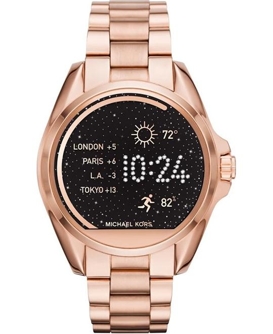 Michael Kors Smartwatch Bradshaw Rose Gold 44.4mm