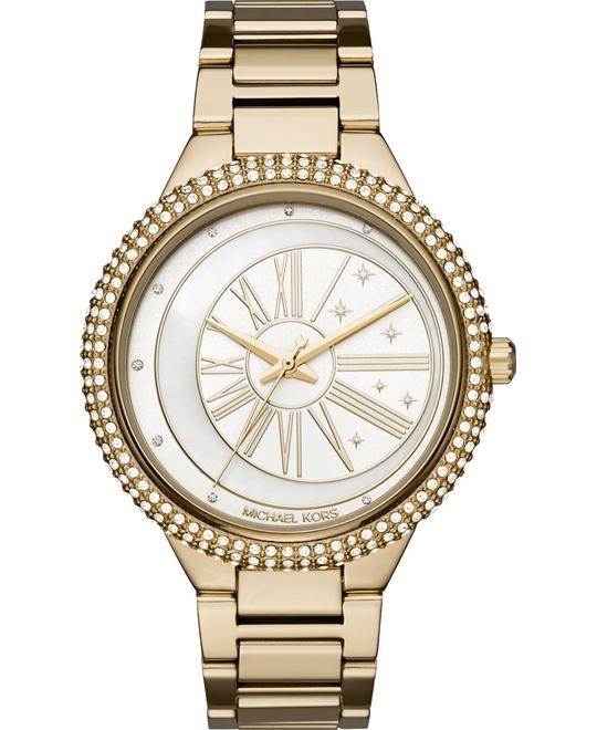 MICHAEL KORS Taryn Gold-Tone Watch 40mm