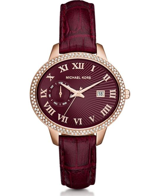 Michael Kors Whitley Pave Red Women's Watch 41mm