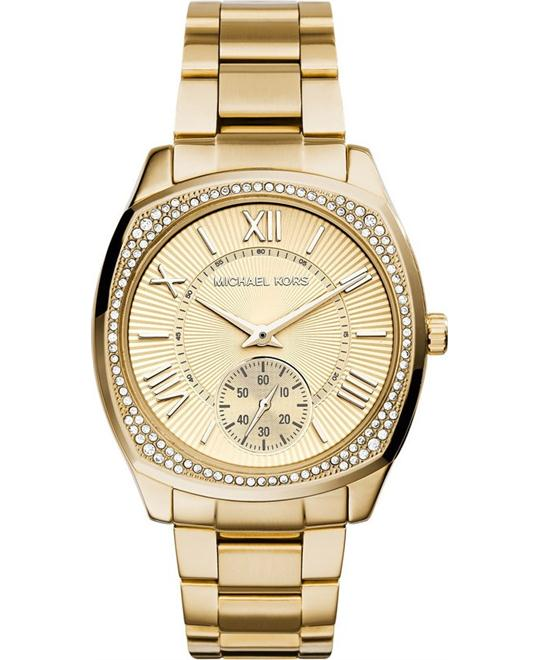 Michael Kors Bryn Unisex Gold Plated Watch 40mm