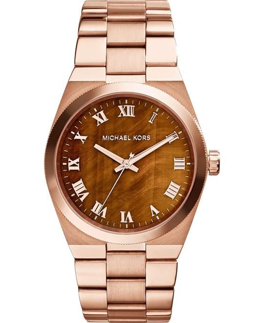 Michael Kors Channing Rose Gold Unisex Watch 38mm
