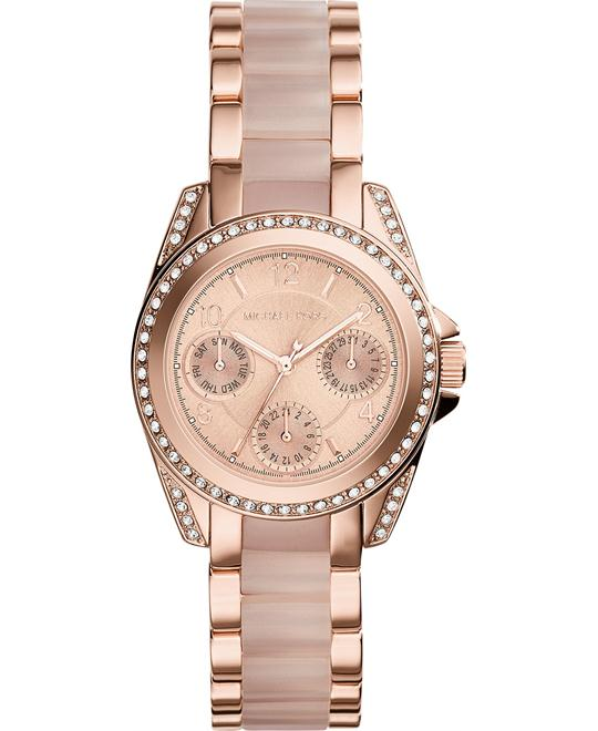 Michael Kors Blair Mini Blush Women's Watch 33mm