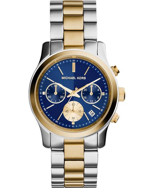 Michael Kors Runway Blue Unisex Watch 38mm