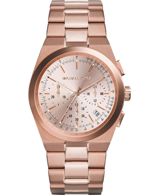 Michael Kors Channing Unisex Rose Gold Watch 38mm