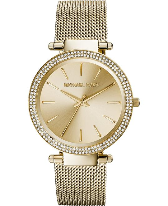 Michael Kors 'Darci' Crystal Gold Women's Watch 39mm