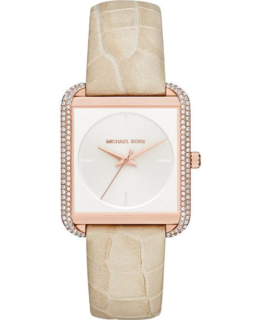Michael Kors Women's Lake Cream Watch 32x39mm