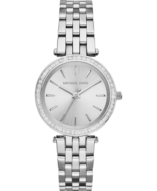 Michael Kors Darci Petite Silver Women's Watch 33mm