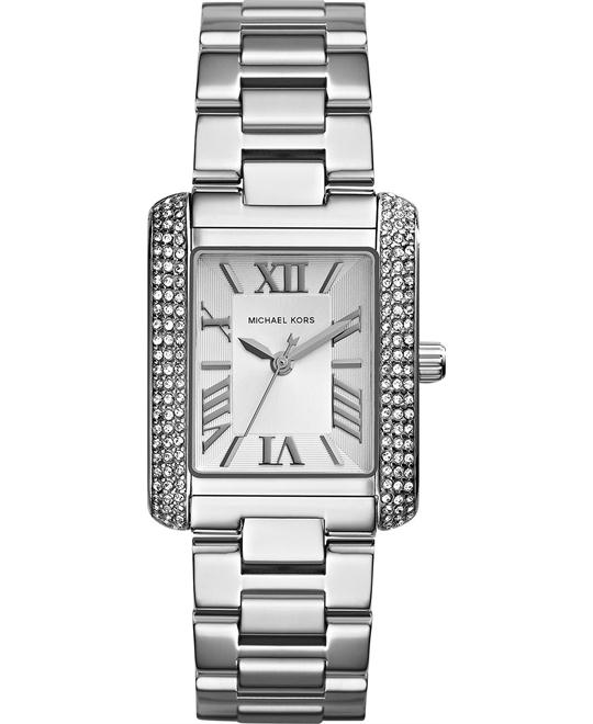 Michael Kors Emery Petite Silver Women's Watch 33x27mm