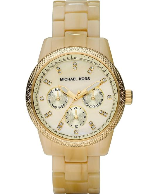 Michael Kors Ritz Resin Horn Unisex Watch 36mm