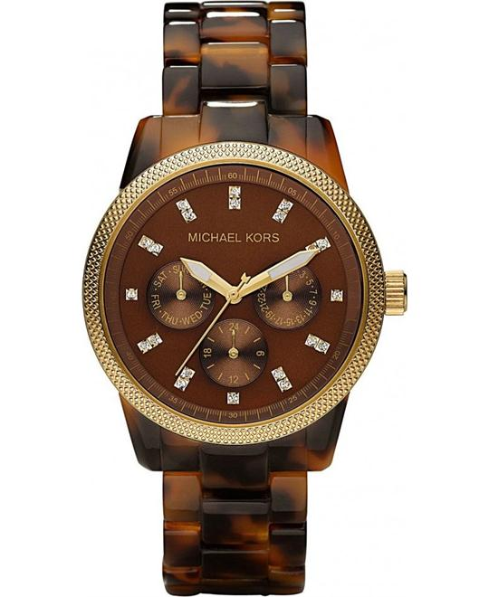 Michael Kors Ritz Tortoise unisex Watch 36mm