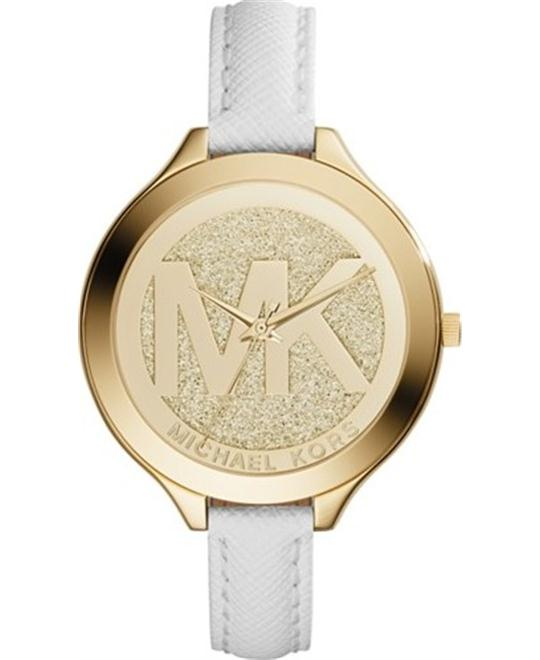 MICHAEL KORS Slim Runway Champagne Watch 42mm
