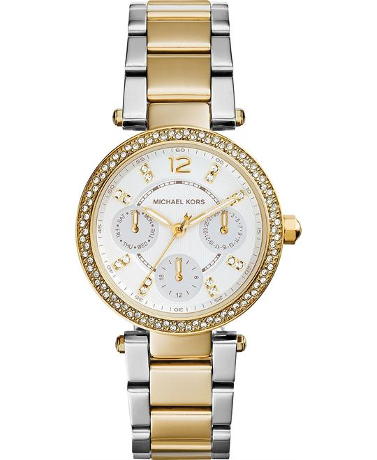 Michael Kors Mini Parker Ladies Watch 33mm
