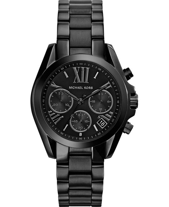 Michael Kors Bradshaw Black Women's Watch 36mm