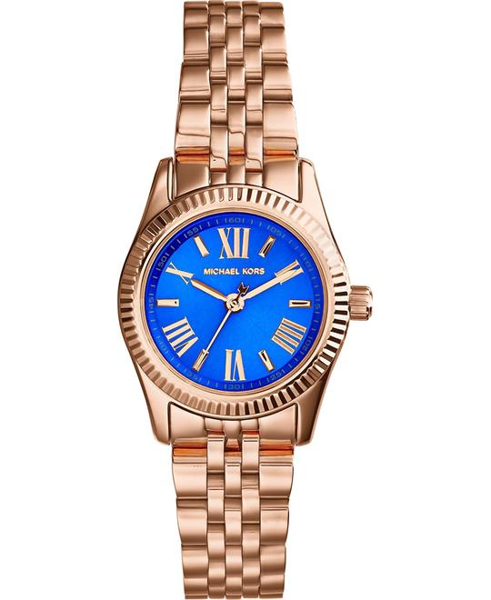 Michael Kors Lexington Petite Blue Women's Watch 26mm