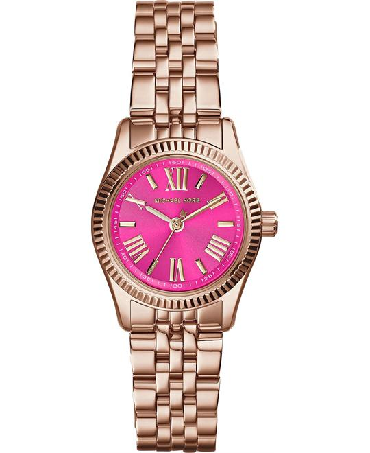 Michael Kors Lexington Petite Pink Women's Watch 26mm