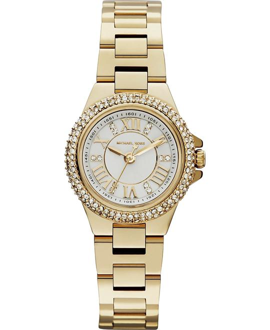 Michael Kors Camille Mini Gold Women's  Watch, 26mm