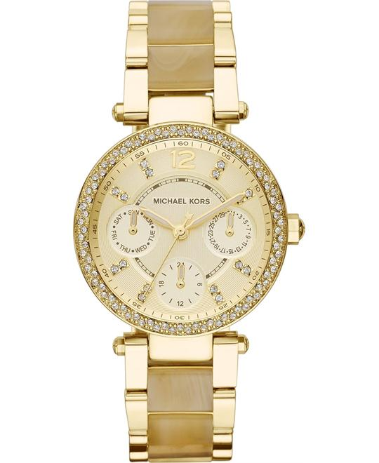 Michael Kors Mini Parker Gold Women's 33mm