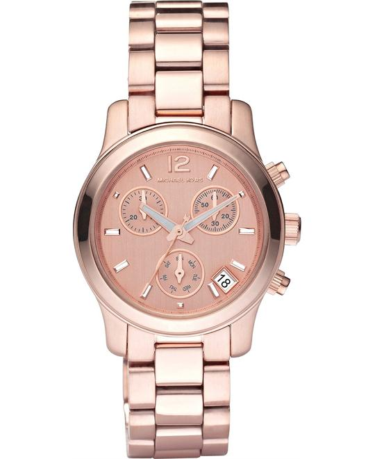 Michael Kors Runway Rose Gold Women's Watch  33mm