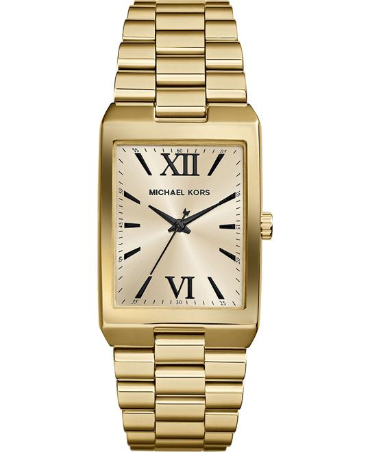 Michael Kors Nash Dial Gold Women's Watch  34x26mm