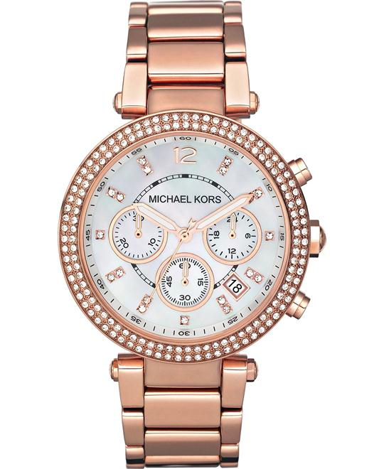 Michael Kors Parker Rose Women's Watch 39mm