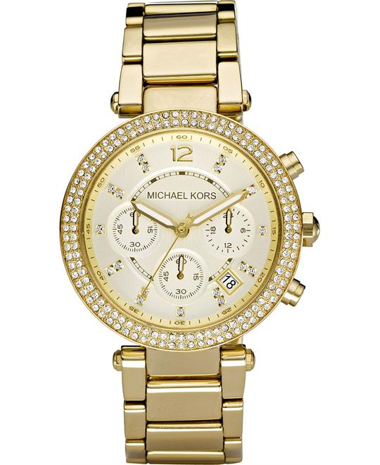 Michael Kors Parker Gold Women's Watch 39mm