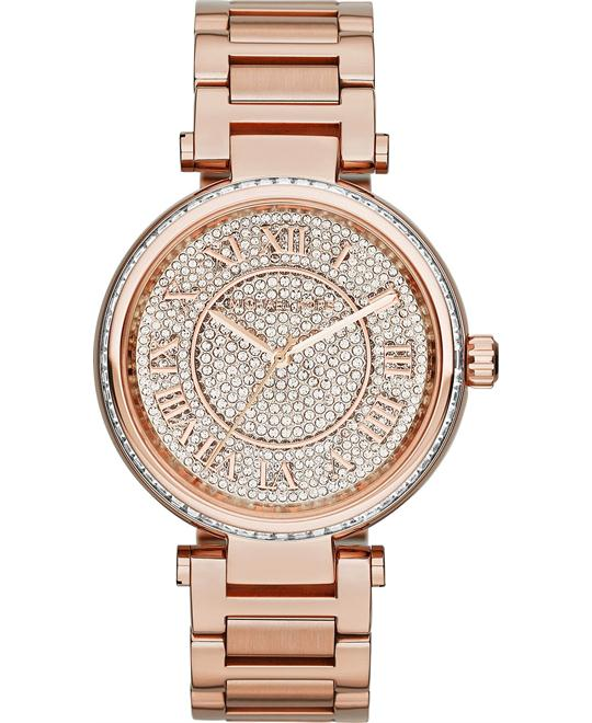 Michael Kors Skylar Rose-Gold Swarovski Women's Watch 42mm