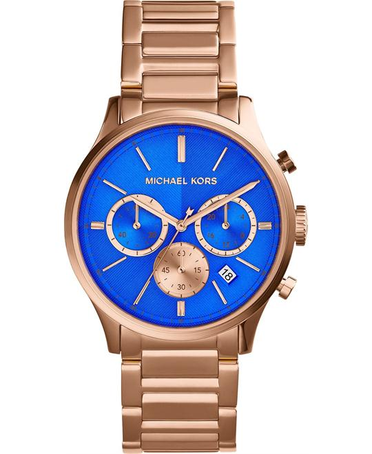 Michael Kors Bailey cobalt blue  Unisex Watch  44mm