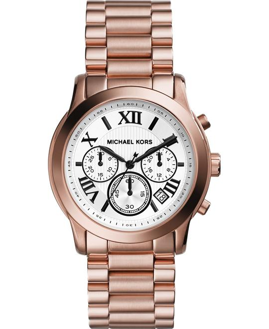 Michael Kors Cooper Unisex Rose Gold Watch 39mm