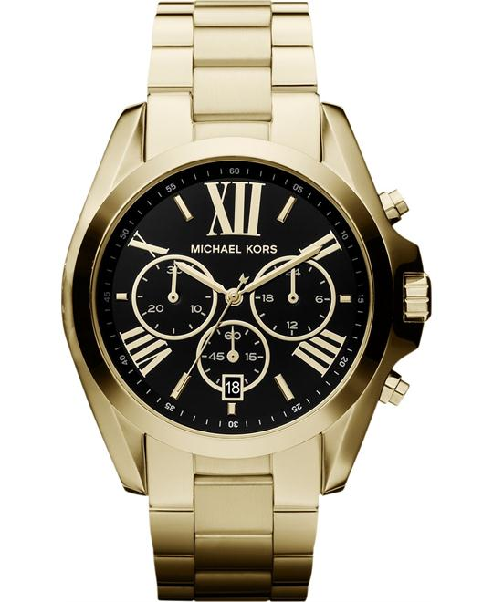 Michael Kors  Bradshaw Gold Tone Men's Watch 43mm