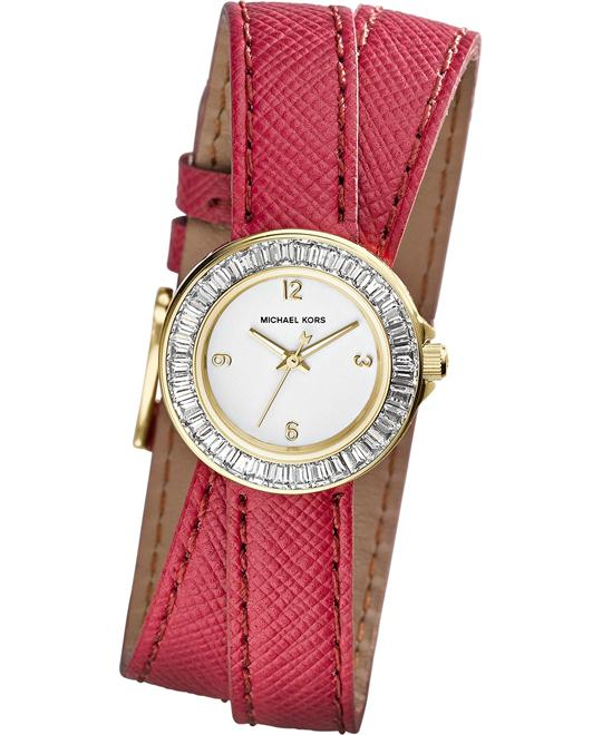 Michael Kors Madison Pink Double Women's Watch 22mm