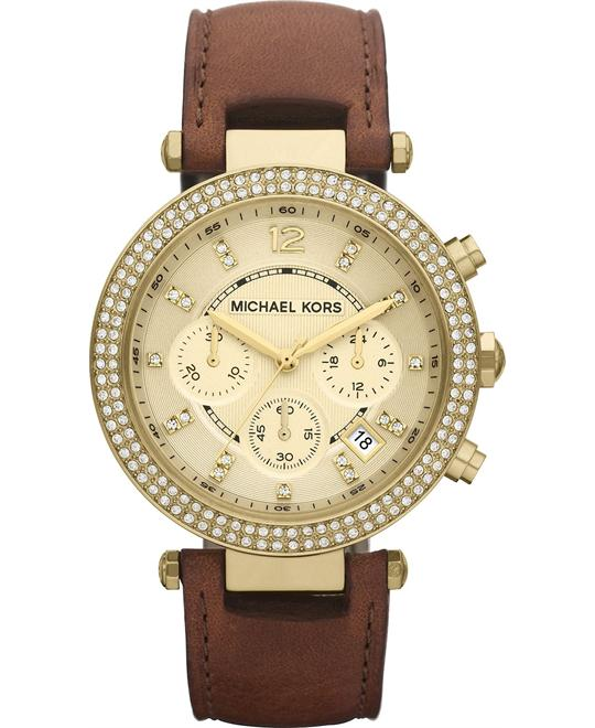 Michael Kors Parker Brown Women's Watch 39mm