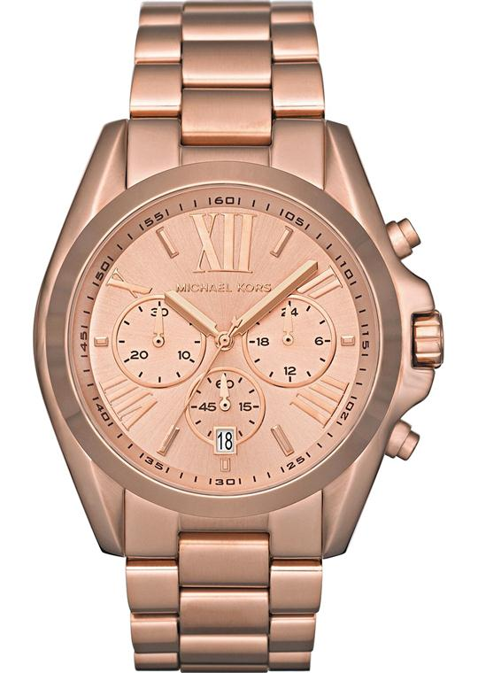 Michael Kors Bradshaw Rose Gold Men's Watch 43mm