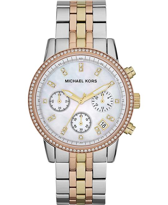 MICHAEL KORS Ritz Chronograph Watch 37mm