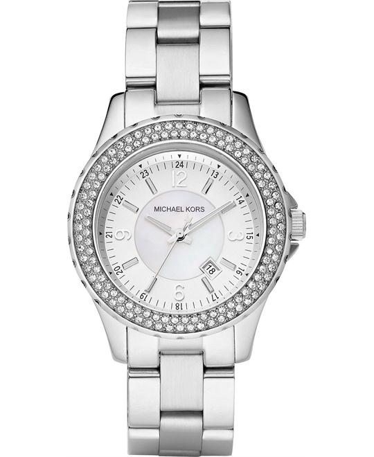 Michael Kors Madison Mini Silver Women's Watch 33mm