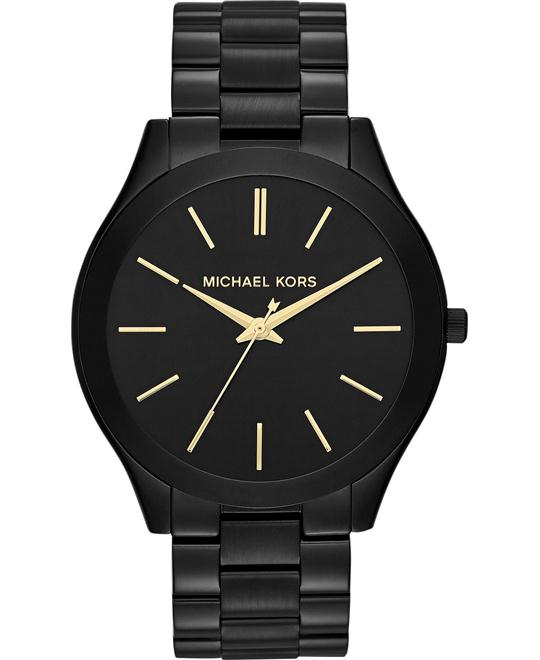 MICHAEL KORS Slim Runway Black Unisex Watch42mm