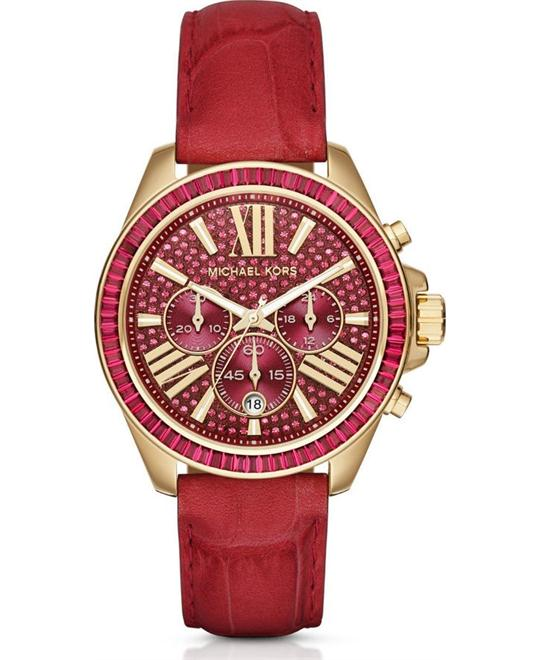 MICHAEL KORS  Wren Leather Watch 41.5mm