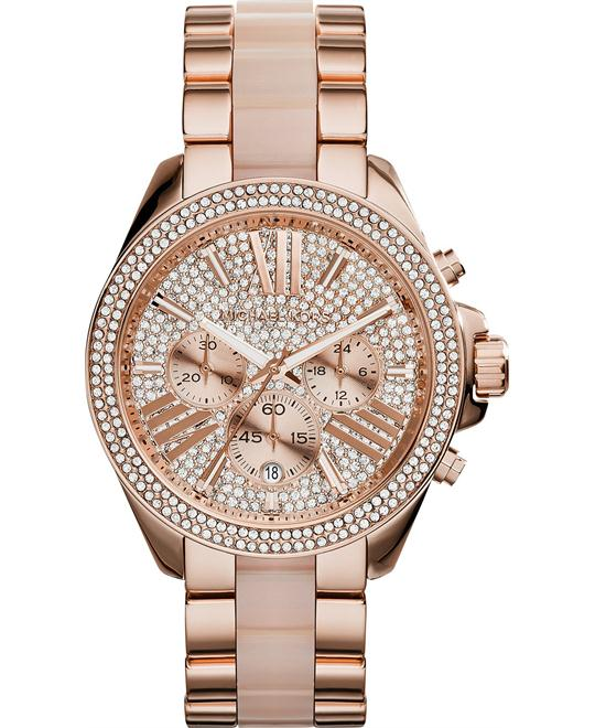 MICHAEL KORS Wren Pave Chronograph Ladies Watch 41mm