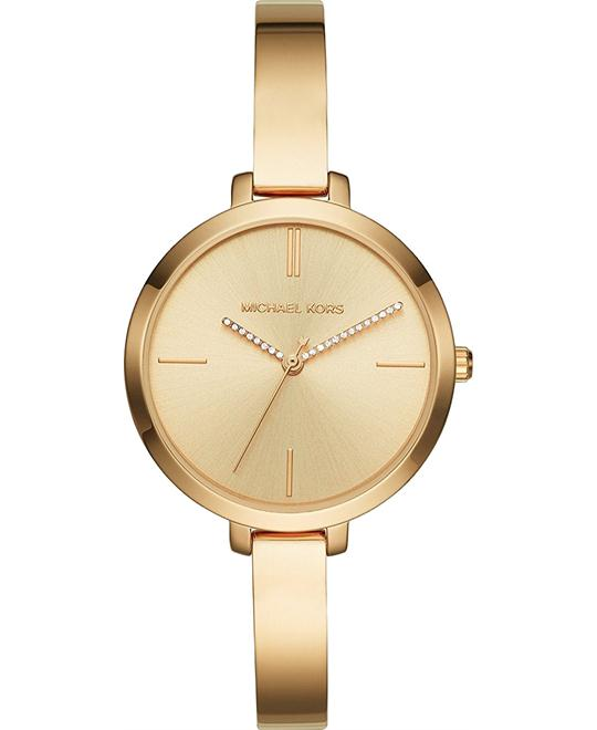 Michael Kors Jaryn Rose Gold-Tone Watch 36mm